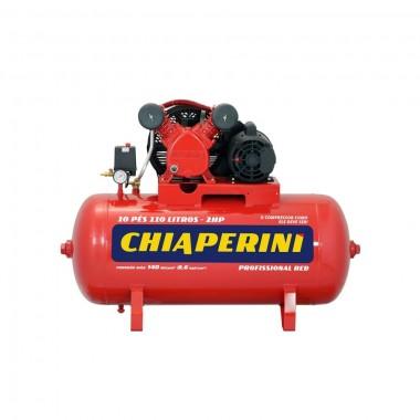 COMPRESSOR DE AR 10 PCM 110 LITROS BIVOLT MONO 10/110 RED CHIAPERINI