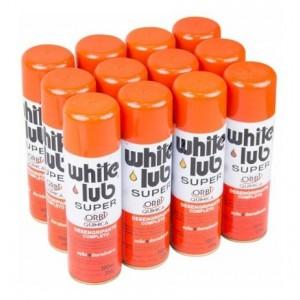 WHITE LUB SUPER DESENGRIPANTE SPRAY 12 UNIDADES DE 300ML ORBI
