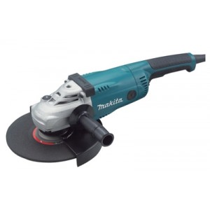 "ESMERILHADEIRA ANGULAR 2400W 6600RPM 230MM - 9"" 220V GA9020 MAKITA"
