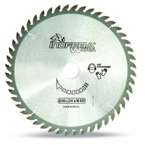 """DISCO DE SERRA WIDEA 10"""" 250X2X30MM 60DENTES HM 8025.04 INDFEMA"""