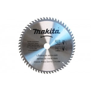 "DISCO DE SERRA WIDEA 235X2.5X25.4MM 60DENTES 9.1/4"" D-51384 MAKITA"