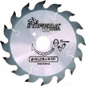 """DISCO DE SERRA WIDEA 7"""" 173X2X30MM 16DENTES HM 9000.05 INDFEMA"""